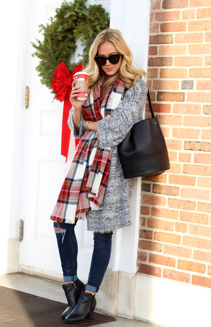 gray-fuzzy-cardigan-nordstrom-winter-style-nordstrom-trend-black-booties-black-bucket-bag-dagne-dover-bags-style-cusp