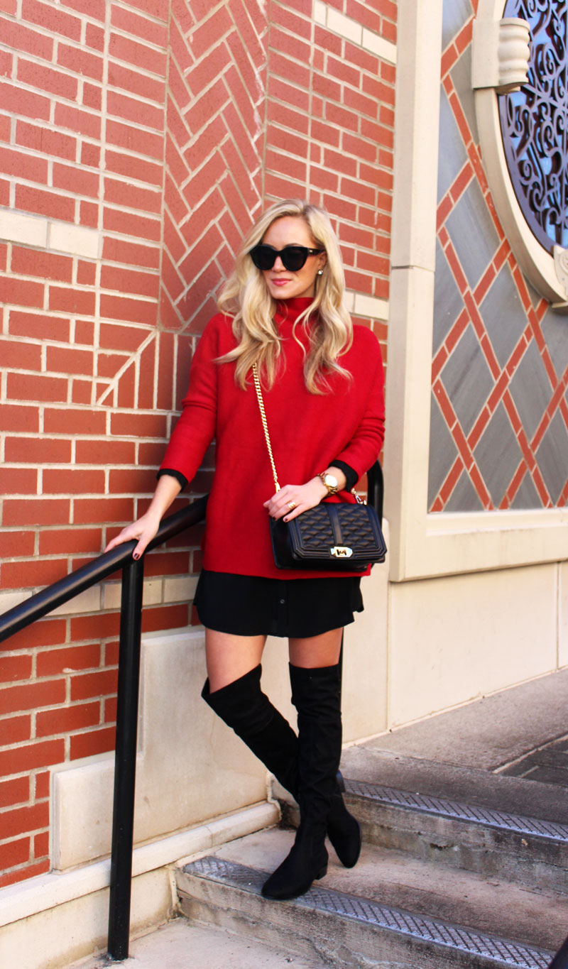 holiday-style-oversized-red-sweater-chicwish-rebecca-minkoff-love-crossbody-over-the-knee-boots