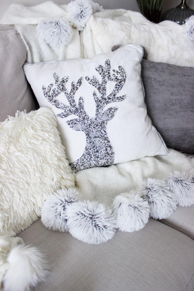 pier-1-beaded-reindeer-throw-pillow-christmas-decor-shaggy-fur-lumbar-pillow-cozy-holiday-decor