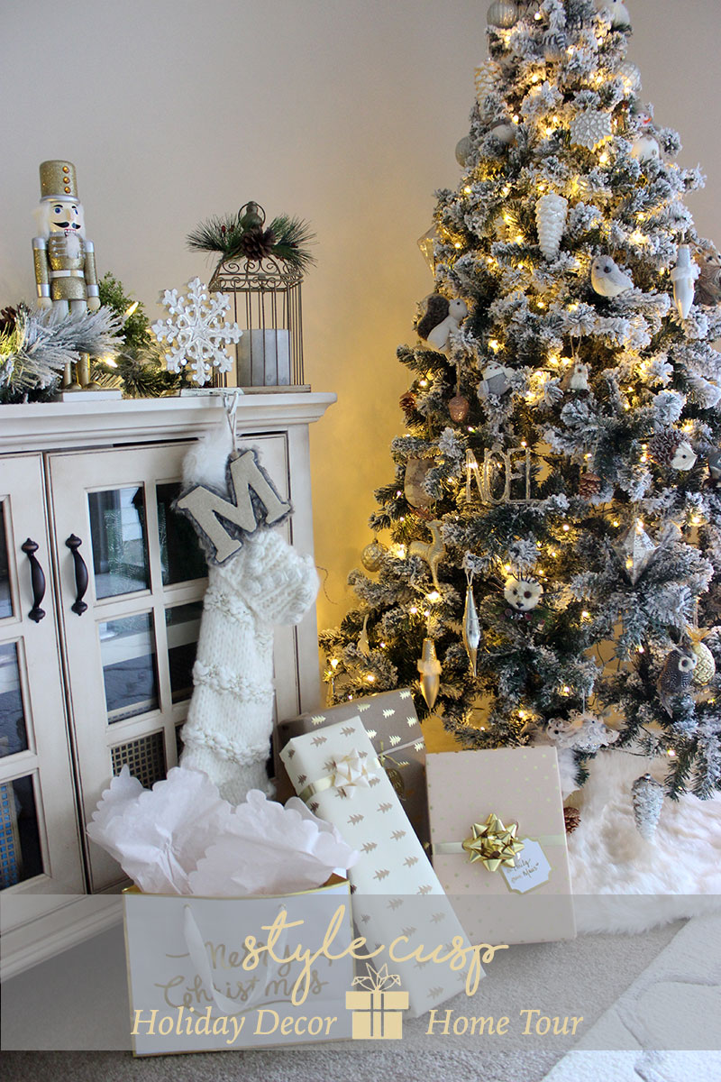 Style Cusp Holiday Home Decor Tour Blogger