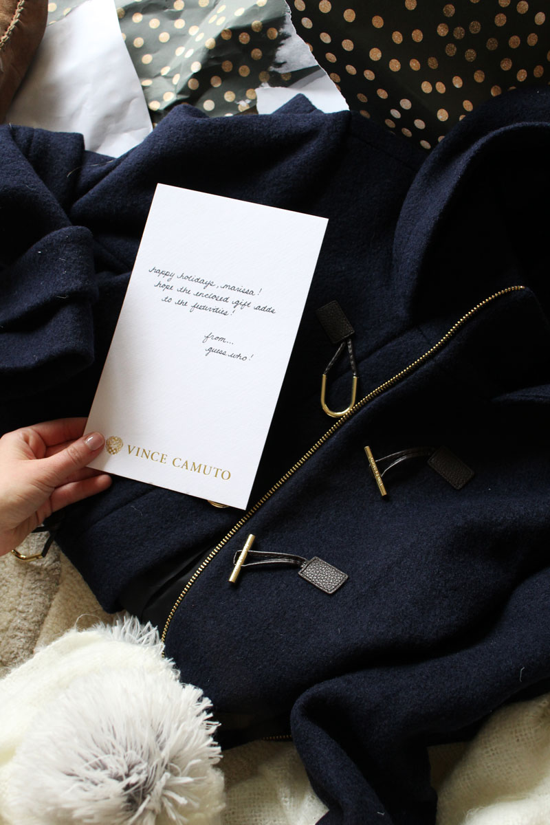 vince-camuto-secret-santa-a-pinch-of-lovely-fashion-blogger-gift-ideas-gift-exchange-navy-winter-coat