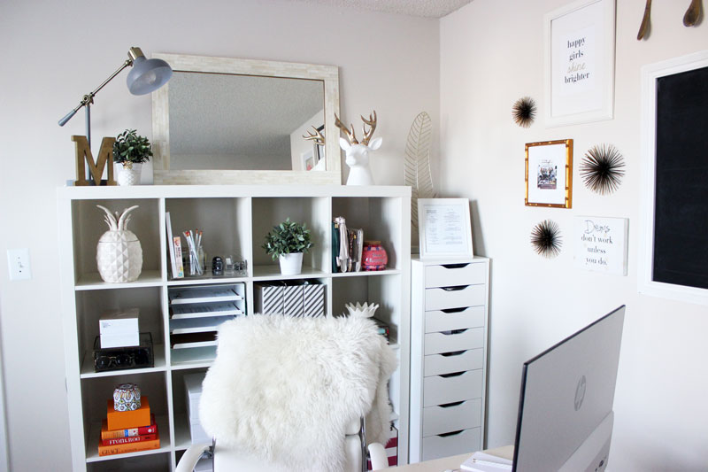Ikea Shelf In Home Office