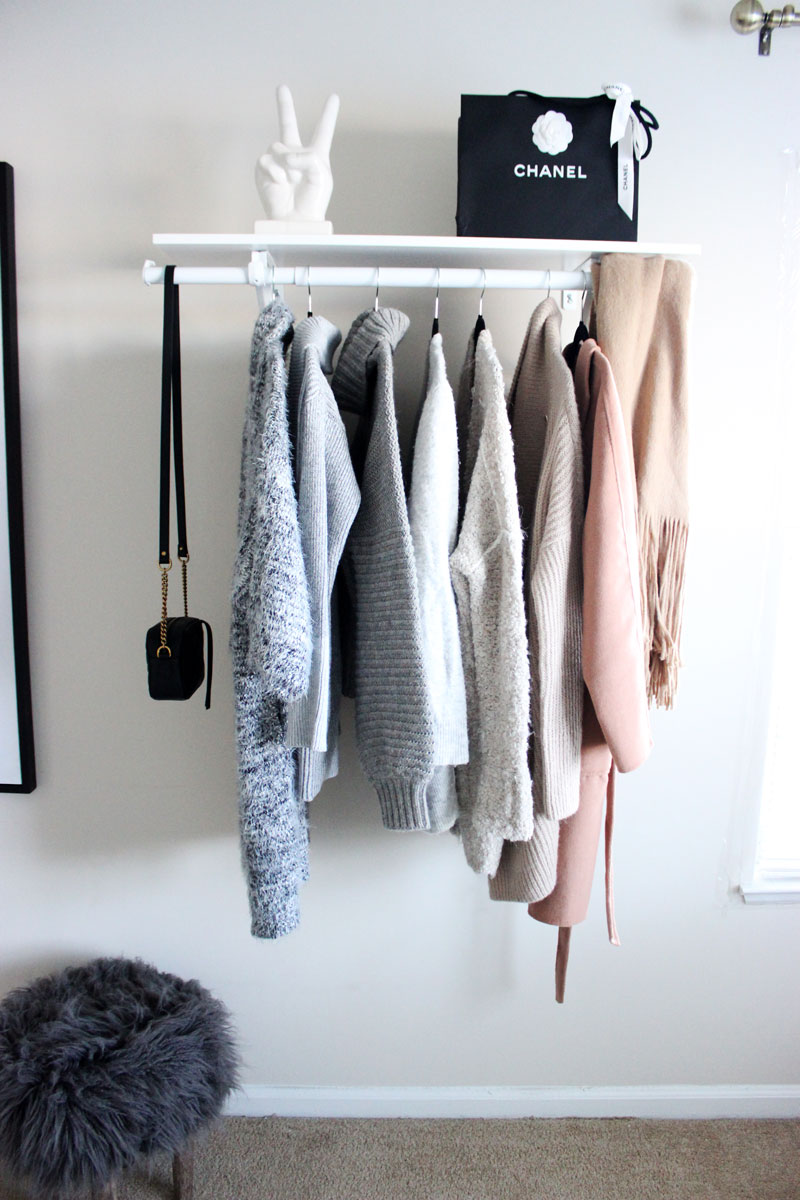 Style-Cusp-Home-Office-Design-Neutral-Sweaters-Chanel-Shopping-Bag