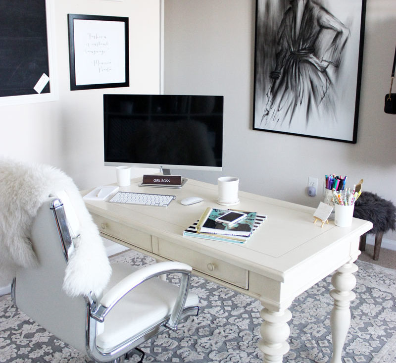 Blogger Home Office