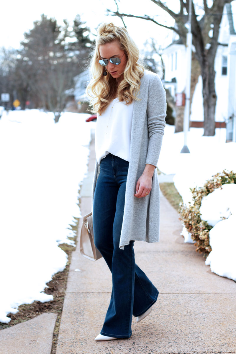 Gray-Duster-Cardigan-Flare-Jeans-