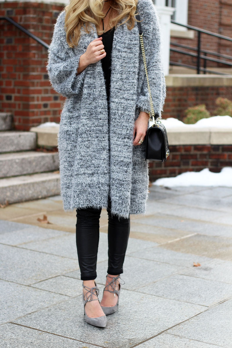 Long-Gray-Cardigan-Gray-Lace-Up-Heels