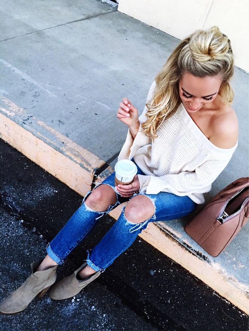 Off-Shoulder-Spring-Sweater
