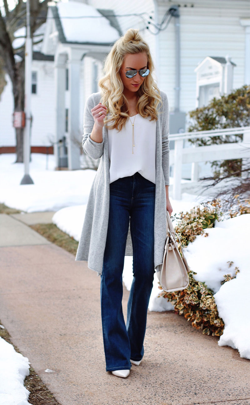 Flare-Jeans-Duster-Cardigan