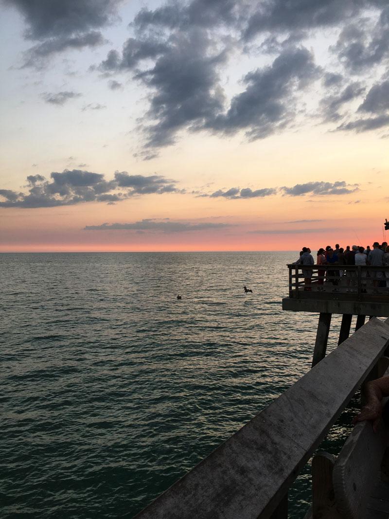 Naples-Pier-Sunset-