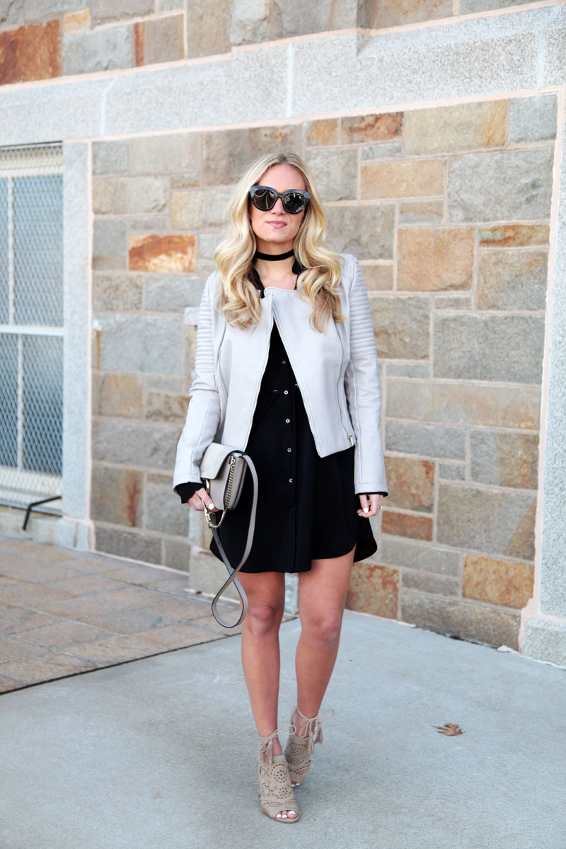 Gray-Faux-Leather-Jacket