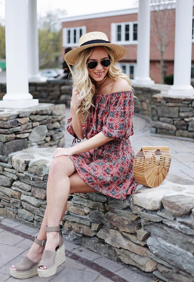 Spring Style Blogger Cult Gaia Bag