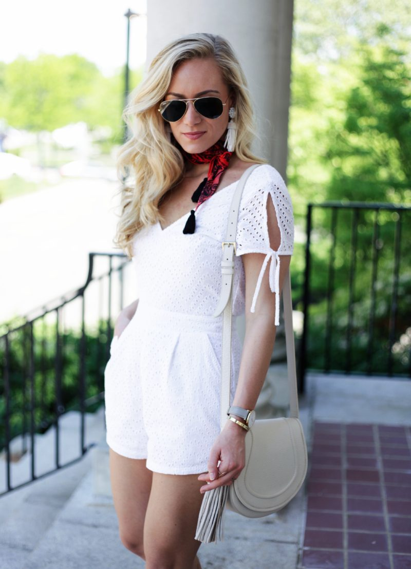 Bandana Neckscarf with Romper