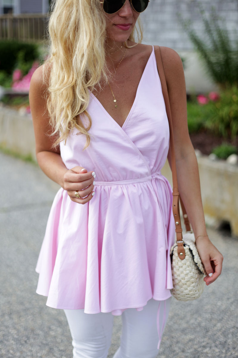 Blush-Pink-Peplum-Top