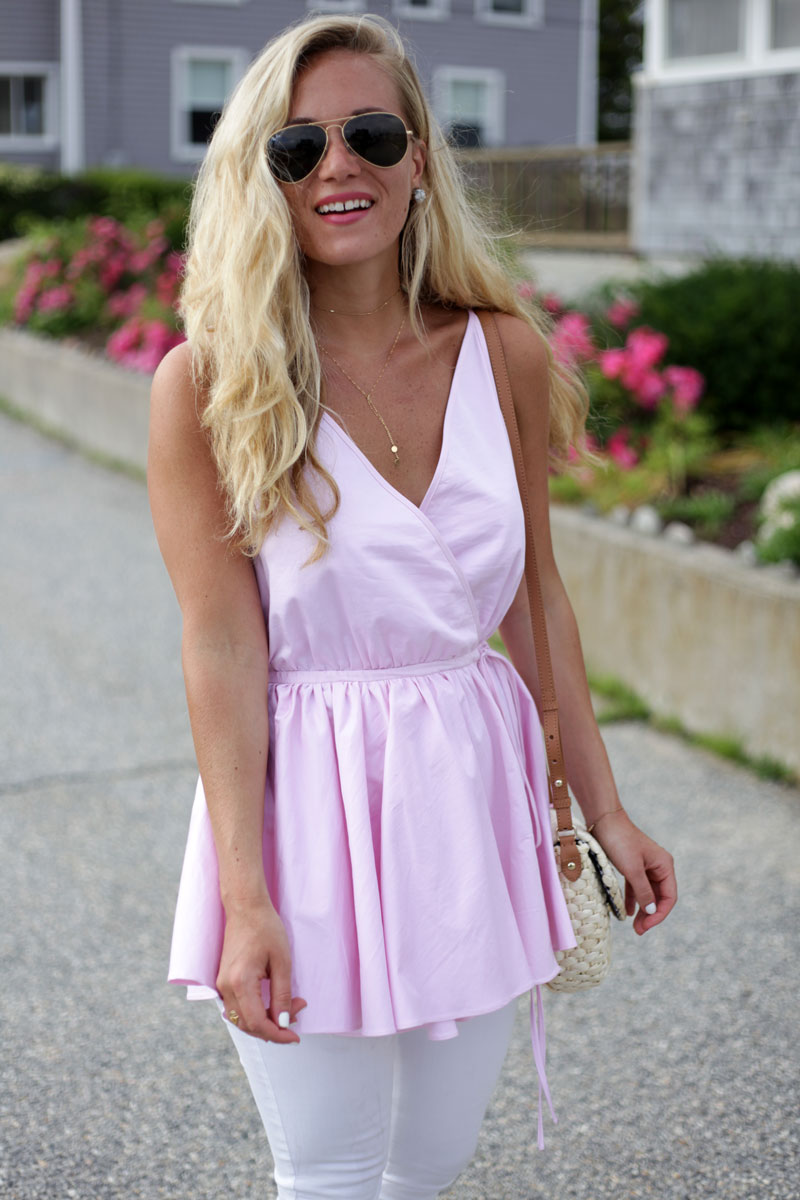 Fame-and-Partners-Pink-Top