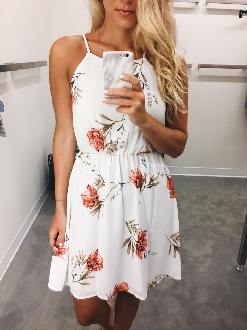 Nordstrom Sale Floral Dress