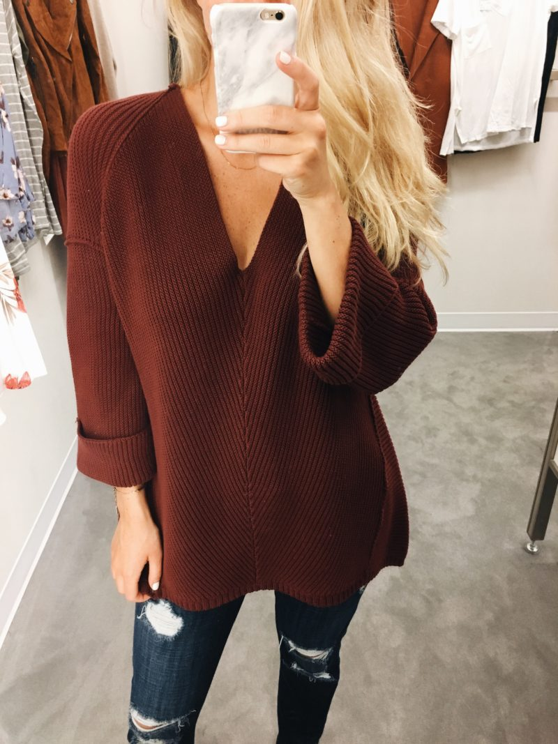 Oversized VNeck Sweater