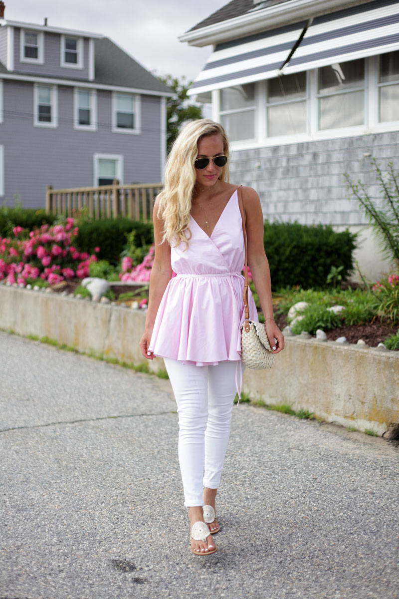 Peplum-Pink-Top
