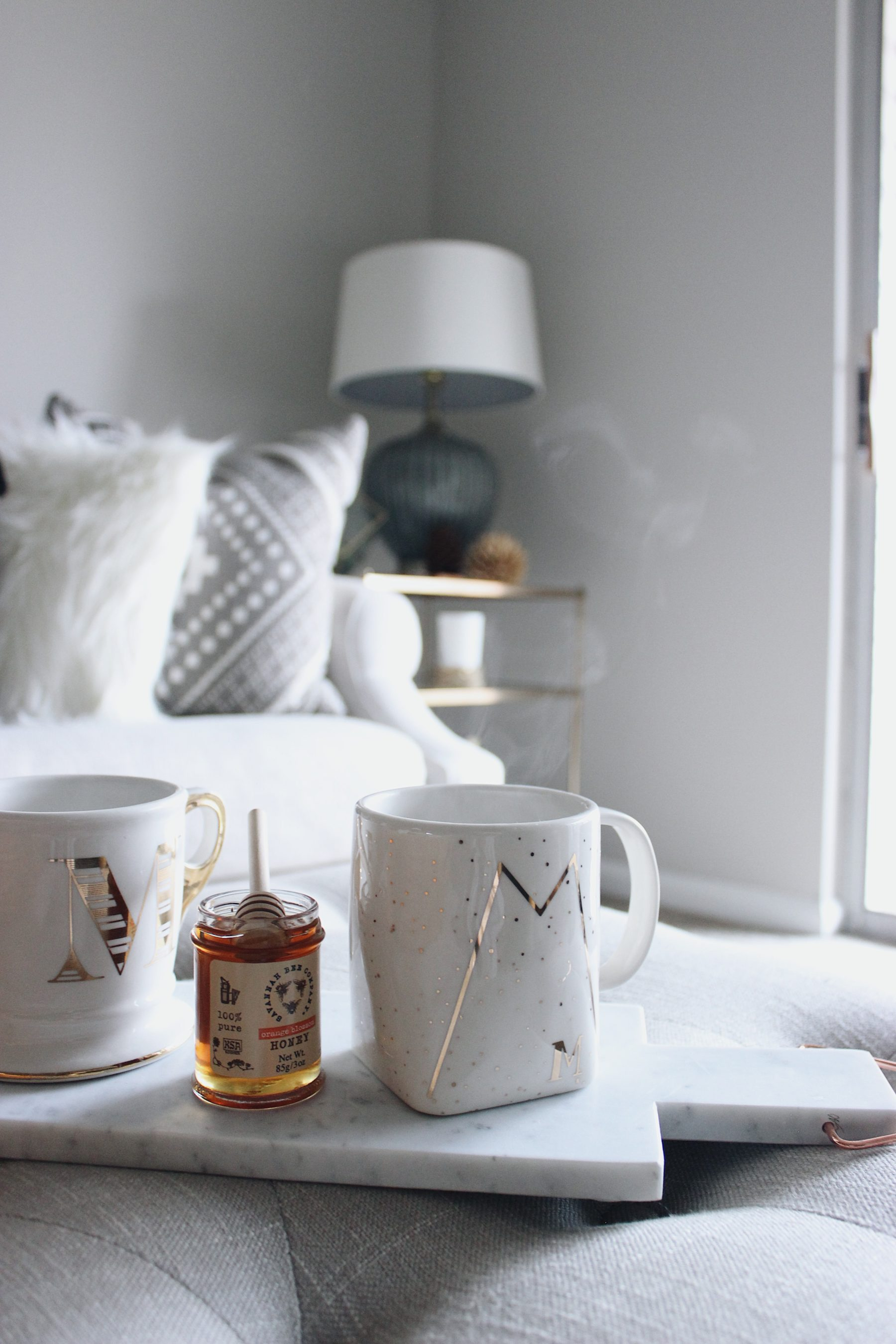 Cozy Gold Mug