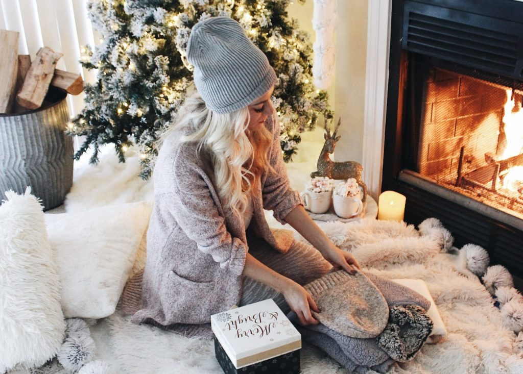 cozy winter loungewear