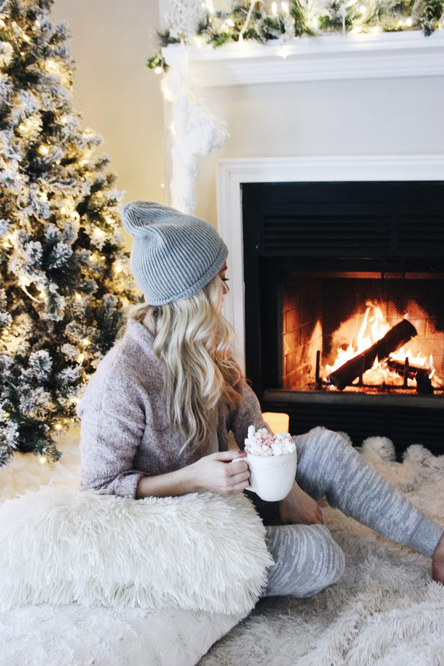 Christmas Cocoa Fireside
