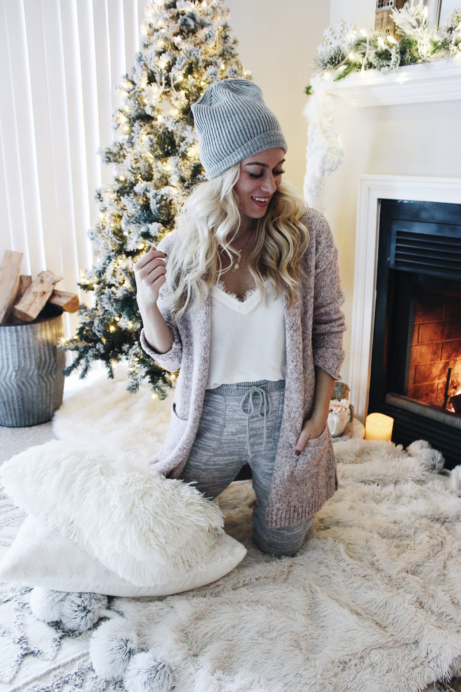 Cozy Christmas Joggers Sweater