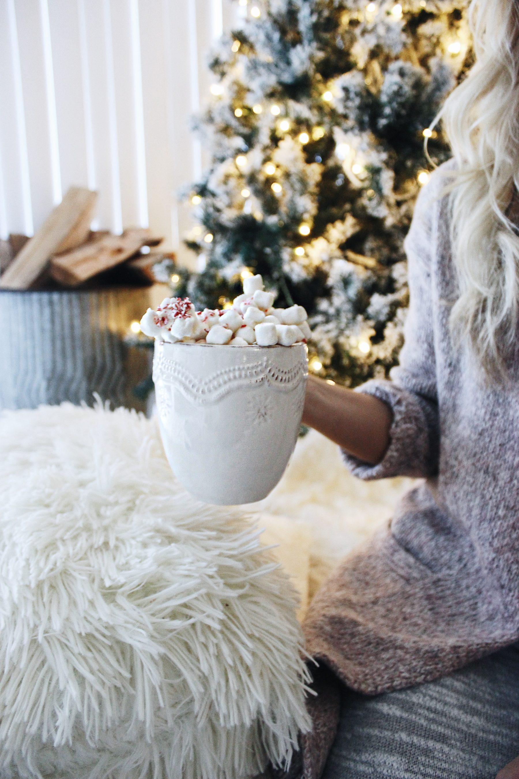 White Christmas Hot Chocolate