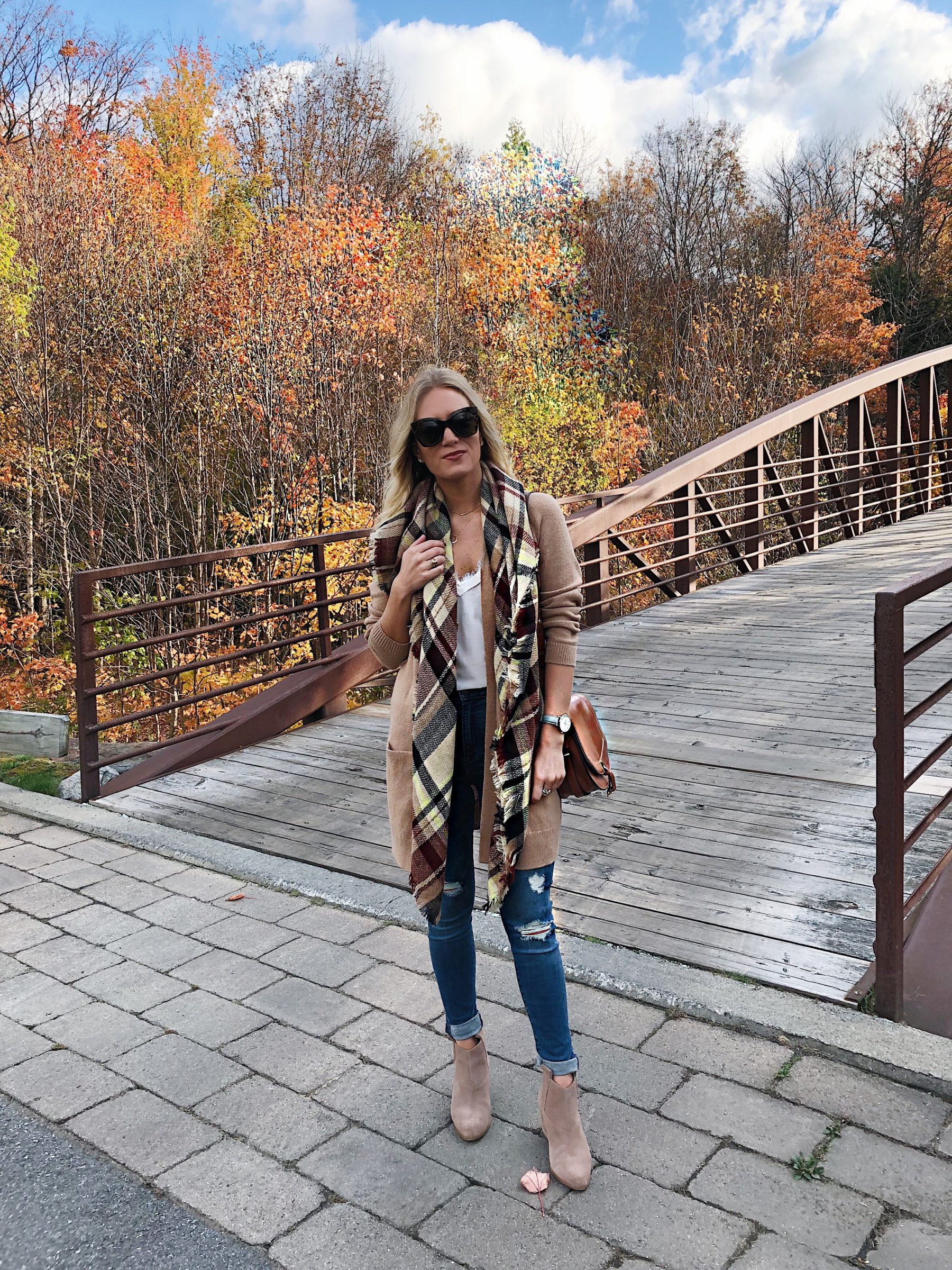 Tan Fall Cardigan