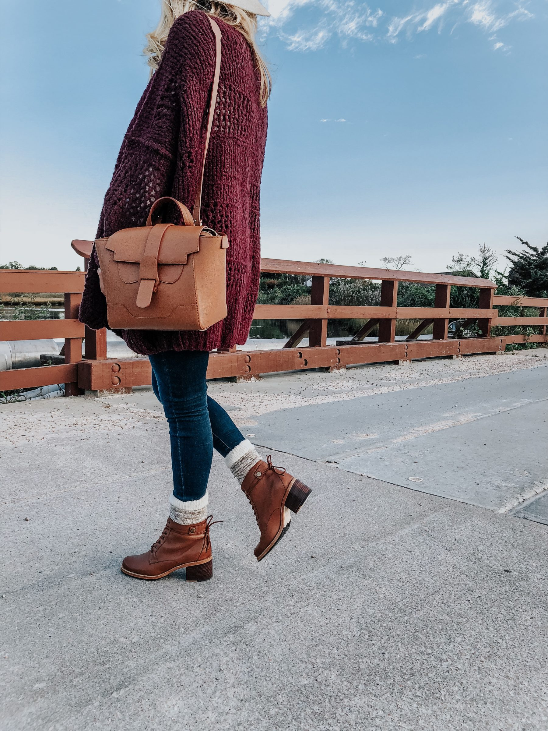 Styling Lace Up Booties - Style Cusp
