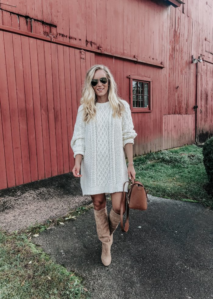 Personal Update + the Coziest Sweater Dress