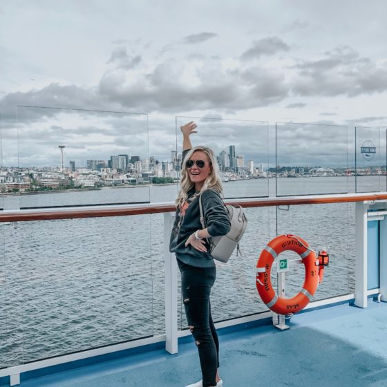 What I Packed + Wore for an  Alaskan Cruise