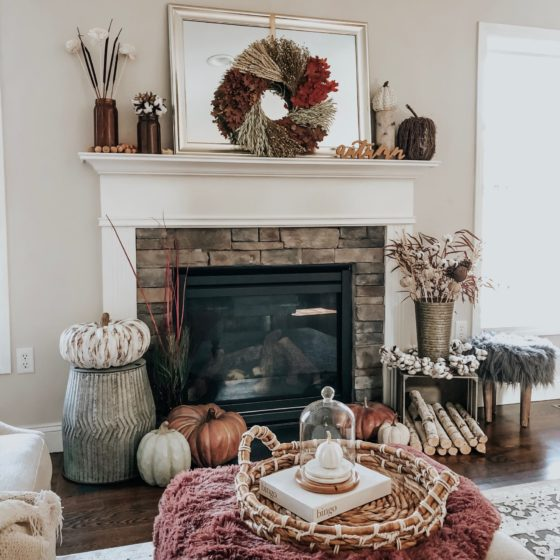 Fall Decor in the New House