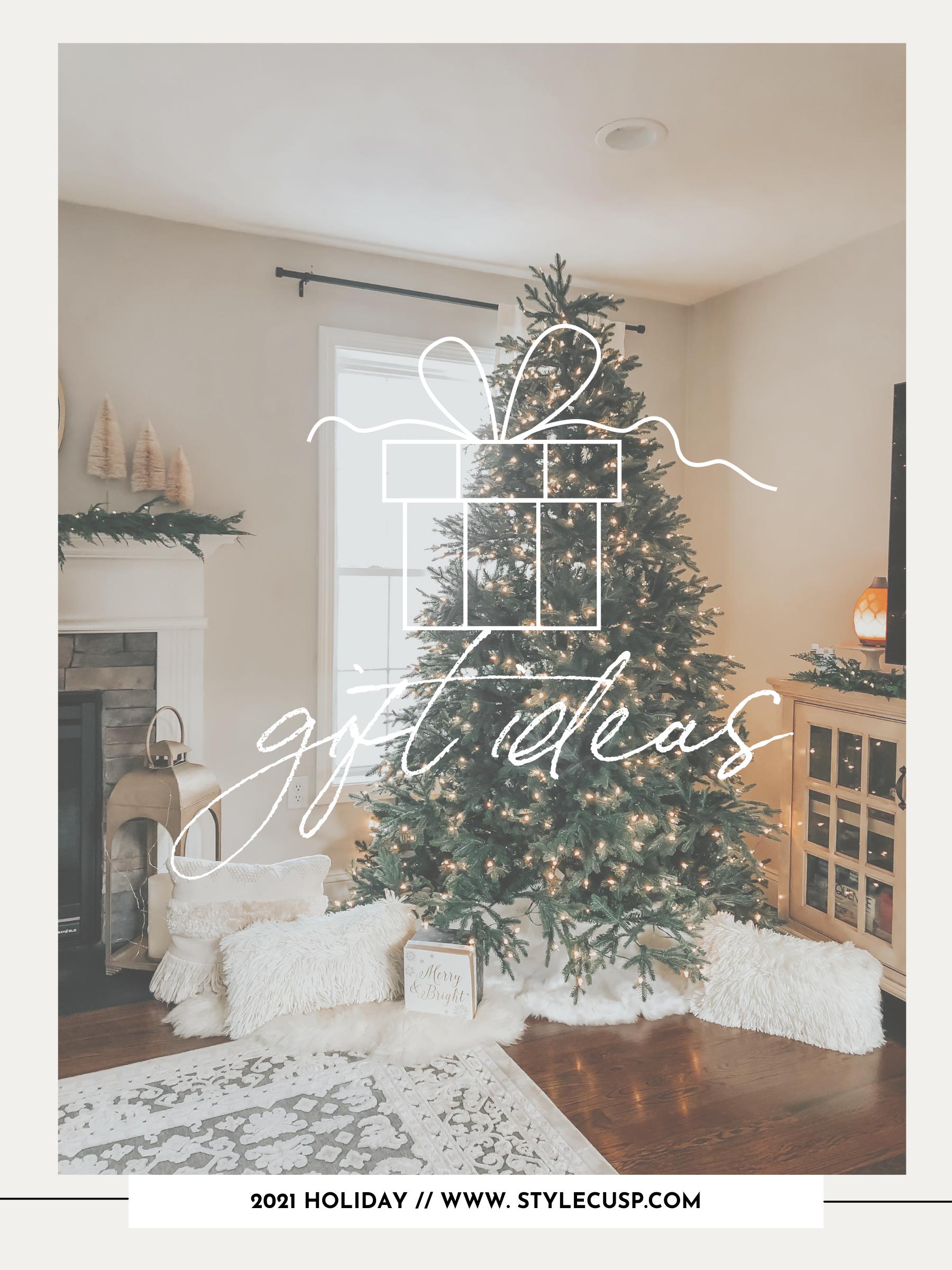 2021 gift ideas. christmas gifts christmas tree